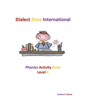 Phonics Activity Book - Level K