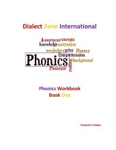 Phonics Workbook - Book One